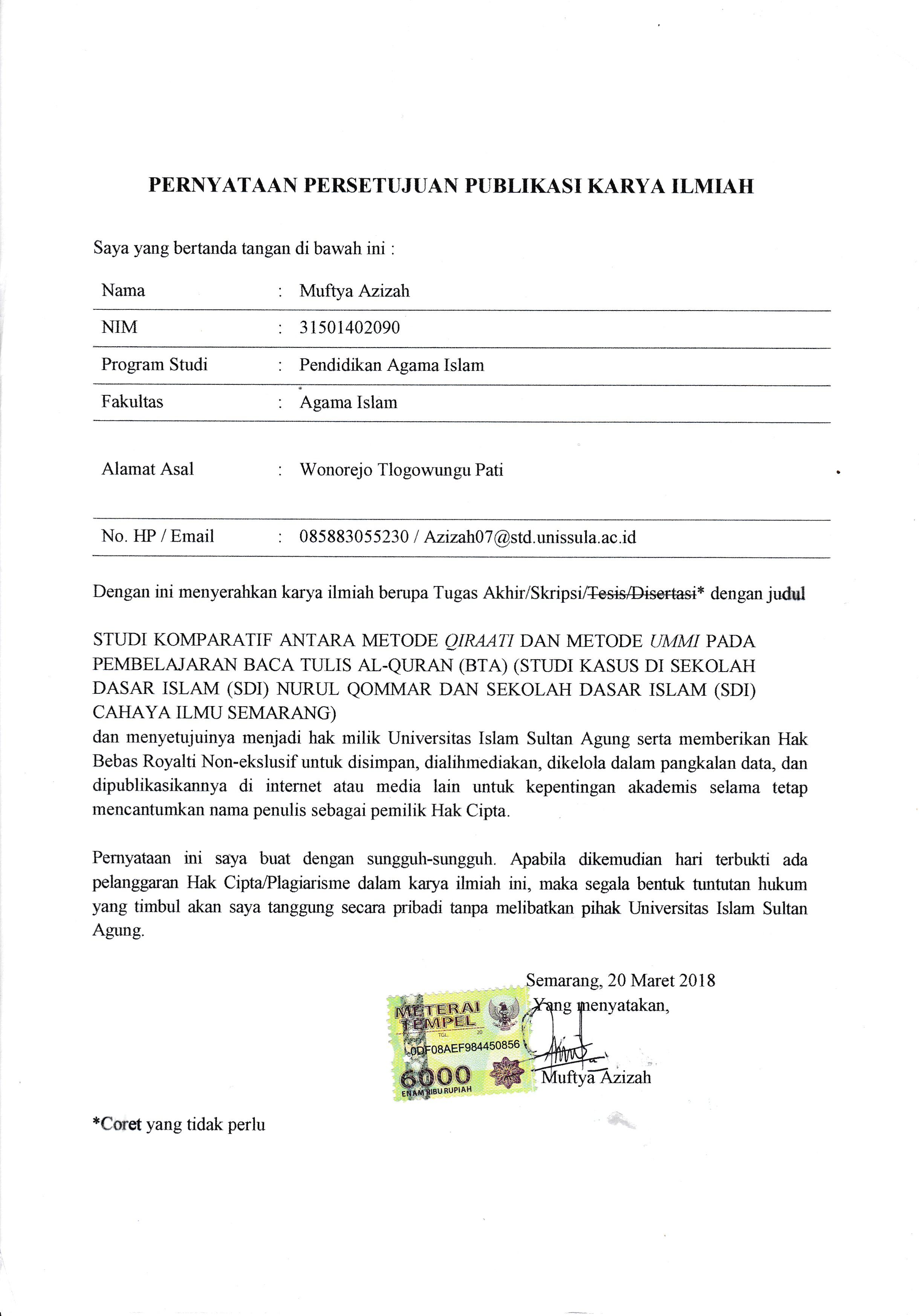 Best Contoh Judul Karya Ilmiah Pendidikan Sekolah Dasar Image Collection