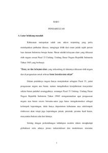 Penyelesaian Gugatan Sederhana Dalam Perkara Perdata Di Pengadilan Studi Kasus Perkara Nomor 03 Pdt G S 2016 Pn Smg Di Pengadilan Negeri Semarang Unissula Repository