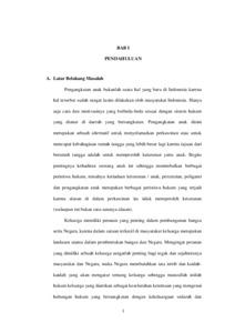 Tinjauan Yuridis Tentang Perjanjian Pengangkatan Anak Dan