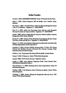 Rancang Bangun Aplikasi Pengarsipan Surat Masuk Dan Surat